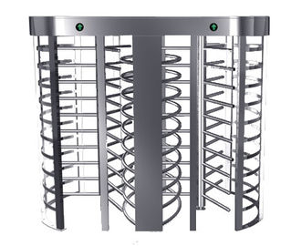 الصين Automatic Electric Full Height Turnstile Entrance Gate With Stainless Steel Tube مصنع