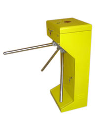 الصين Vertical Stainless Steel Tripod Turnstile Gate For Park or Airport مصنع
