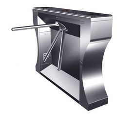 الصين Intelligent Electrical Stainless Tripod Turnstile For Bus Station مصنع