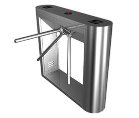 الصين Magnetic Card Stainless Steel Tripod Turnstile Gate for Supermarket مصنع