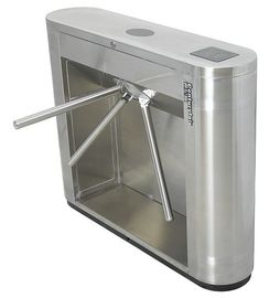 الصين Access Control, Time Attendance Magnetic Card Stainless Steel Tripod Turnstile Gates مصنع