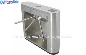الصين Stainless Steel Tripod Turnstile Gates For Supermarket Time Attendance مصنع