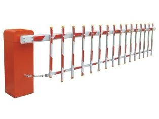الصين 6s Customizable Reliable Powder Coating Barrier Gate System for Living zone, School, Hospital, Government مصنع
