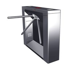 الصين Digital Magnetic Card Stainless Steel Tripod Turnstile Gate, Subway Entrance Barrier مصنع