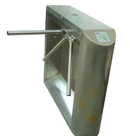 الصين 0.2s Access Control, Time Attendance Stainless Steel Tripod Turnstile Gate for Library مصنع