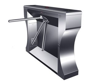 الصين 0.2s RS485 Versatile Digital Stainless Barrier Gate System Tripod Turnstile for Subway مصنع