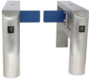 Two-way Direction DC 24V Brushed Motor Automatic Swing Gate Barrier With Alarm (1-2 s)