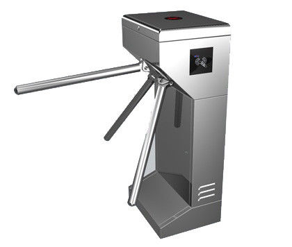 Time Attendance / Tolling 0.2S Stainless Steel ID Card Tripod Turnstile Gate for Musem المزود
