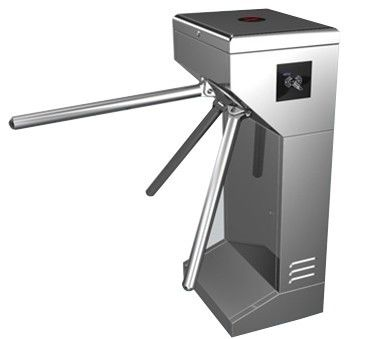 Vertical Stainless Steel Tripod Turnstile Gate For Park or Airport المزود
