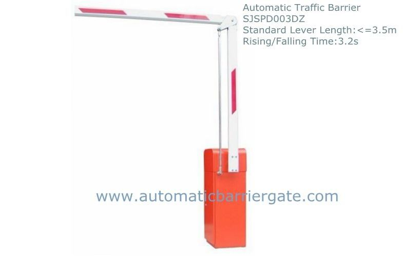 3.2s Heavy Duty High Integration Customizable Reliable Powder Coating  Automatic Traffic Barrier Gate المزود