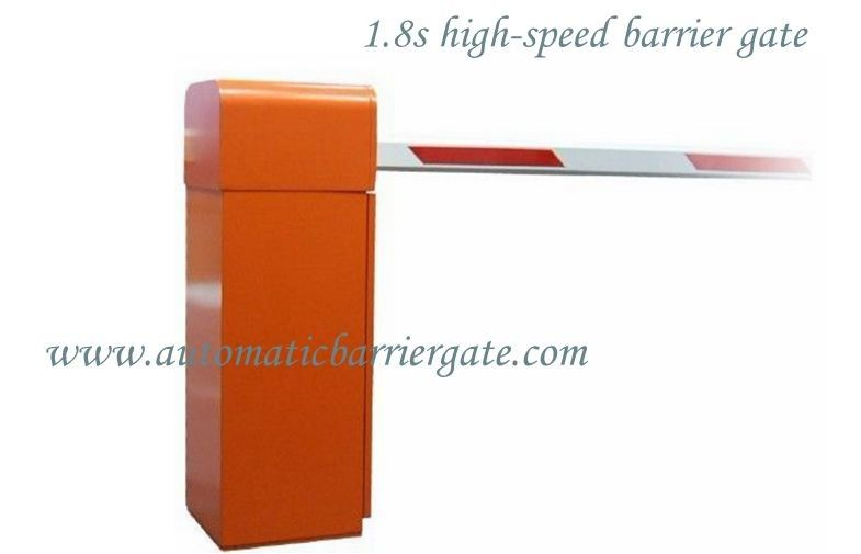 1.8s Customizable Powder Coating High Speed Automatic Traffic Barrier Gate for Airport / Bus Station المزود