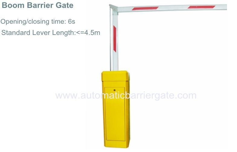 3S/6S Customizable Reliable Powder Coating Automatic Barrier Gate for School, Hospital, Living Area, Government المزود