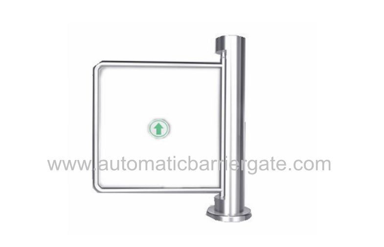 Auto Reset 90 Angle Single Directional Stainless Manual Swing Gate Barrier for Exhibition المزود