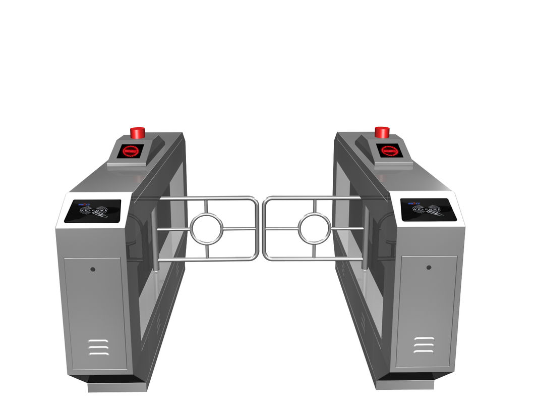 Magnetic Card One-way Direction Self-checking Automatic Swing Gate Barrier RS485 AC220V المزود