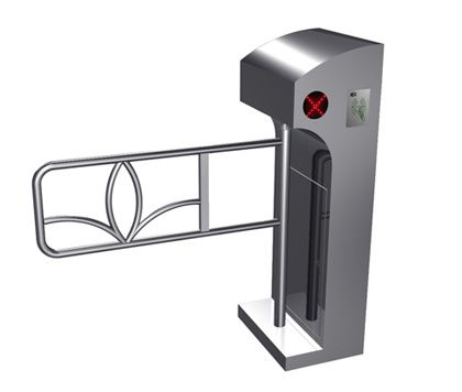 One-way Direction Digital LED Prompt Vertical Barrier Automatic Swing Gate for Supermarket المزود