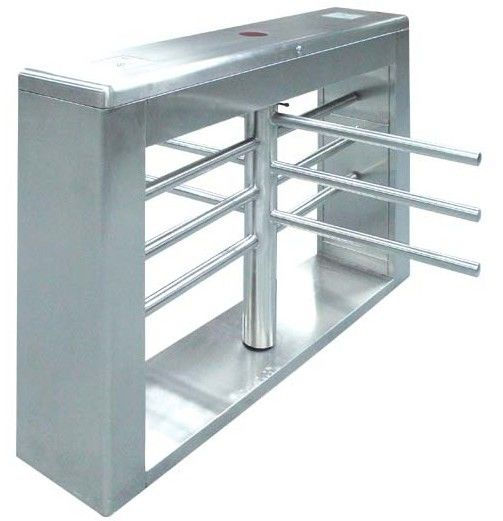 One-way Direction Automatic Rotation Full Height Turnstile with LED Display for Museum المزود